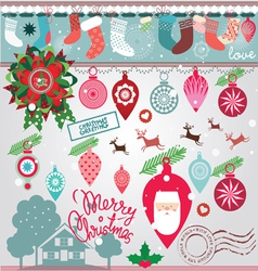 Elements for Christmas vector image