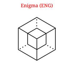 Enigma eng logo vector