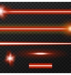 Laser beams pack vector