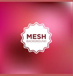 mesh background in shocking pink color palette vector image