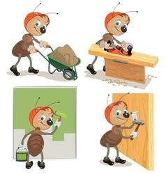 Set ant worker vector