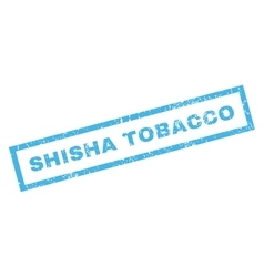 Shisha Tobacco Rubber Stamp vector