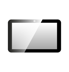 Icon tablet computer vector image vector image