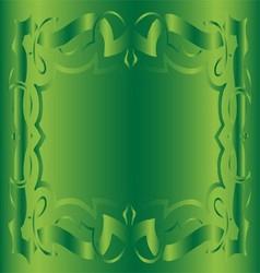 Vintage Royal Background Light Blue Floral Luxury vector image