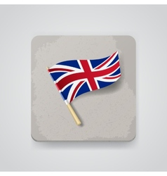 Great Britain flag icon vector image