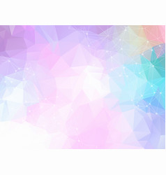 abstract triangle pattern low poly technology vector image