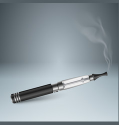 Harmful cigarette viper smoke business vector