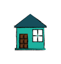 house building home vector image
