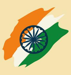 India flag design vector