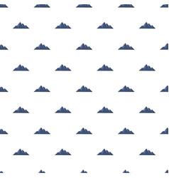Mountain adventure pattern seamless vector