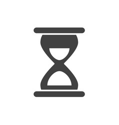 office hourglass clock time business supply vector image