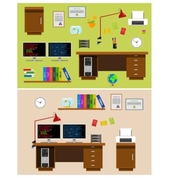 Programmer Office Space vector