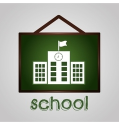 School graphic design vector