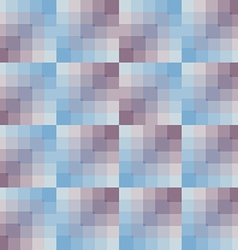 Seamless pattern geometric squares vector
