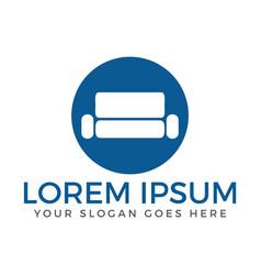 Universal premium furniture logo vector