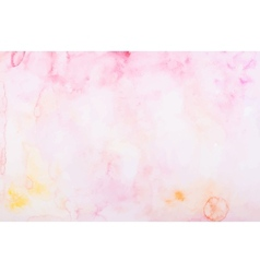 Abstract colorful hand draw watercolor aquarelle vector image