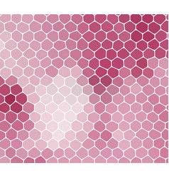 Abstract pink background with cells not seamless vector