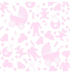 baclothes and toys vector image