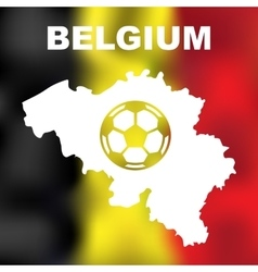 Belgian Abstract Map vector