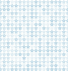 Blue stars unusual backgraund vector image