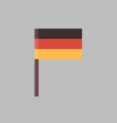 german flag icon oktoberfest festival concept vector image