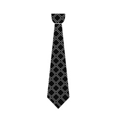 Necktie icon simple style vector