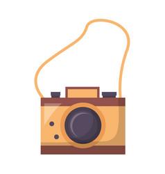 photography camera retro vector image