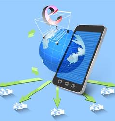 Smarthone concepts vector image