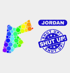 Spectral mosaic jordan map and scratched shut up vector