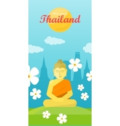 Thailand Travel Poster vector