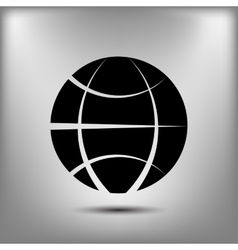 The globe icon Globe symbol Flat vector