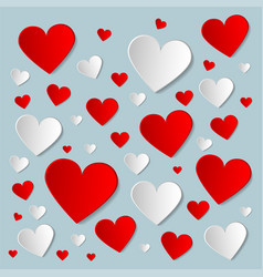 valentines day creative background with vector image