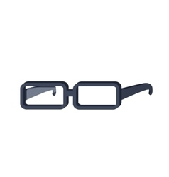Glasses in Flat Design vector image vector image