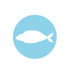 fish fresh food image icon vector image