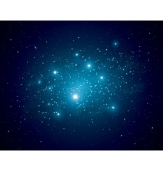 stars in space vector image vector image