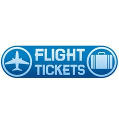 flight tickets vector image vector image
