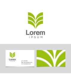 vegetal icon vector image vector image