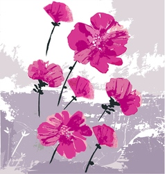 Beauty as flowers vector