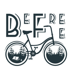 bicycle10 vector image