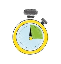 classic timer stopwatch vector image