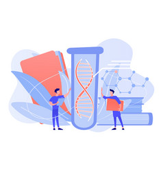 genetic testing concept vector image