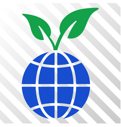 global sprout eps icon vector image