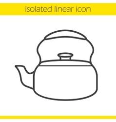 Kettle icon vector