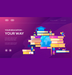 modern concepts for website vector image