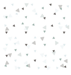 Pattern background triangle retro vintage design vector
