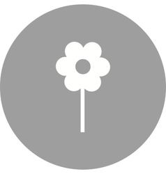 Planted Flower vector