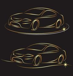 auto design vector image vector image