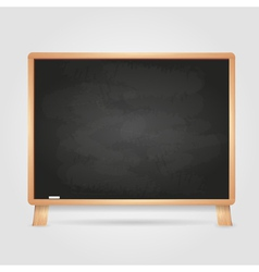 Black chalk board vector image vector image