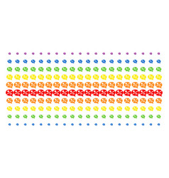 arguments shape halftone spectral pattern vector image