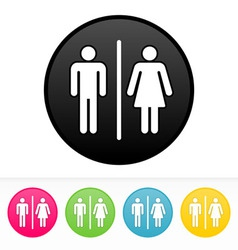 Bathroom Symbol vector